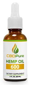 CBDPure Hemp Oil 600 CBD Pure