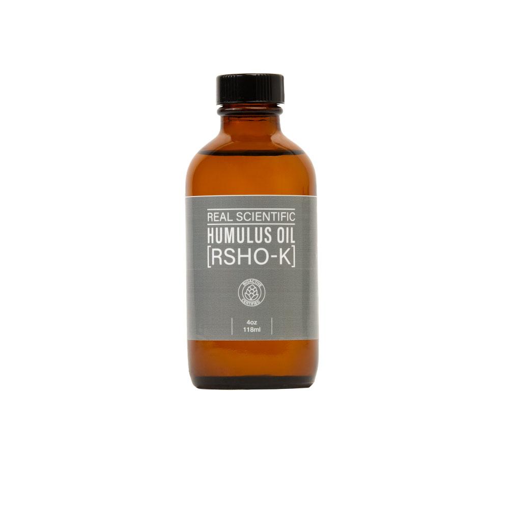 REAL SCIENTIFIC HUMULUS OIL (RSHO-K™) CBD LIQUID 4OZ. HempMeds