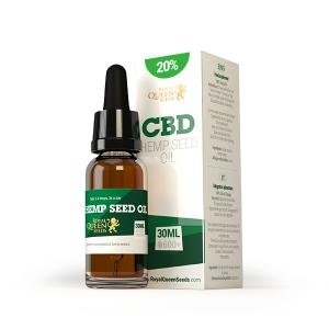 CBD Hemp Seed Oil 20% Royal Queen Seeds