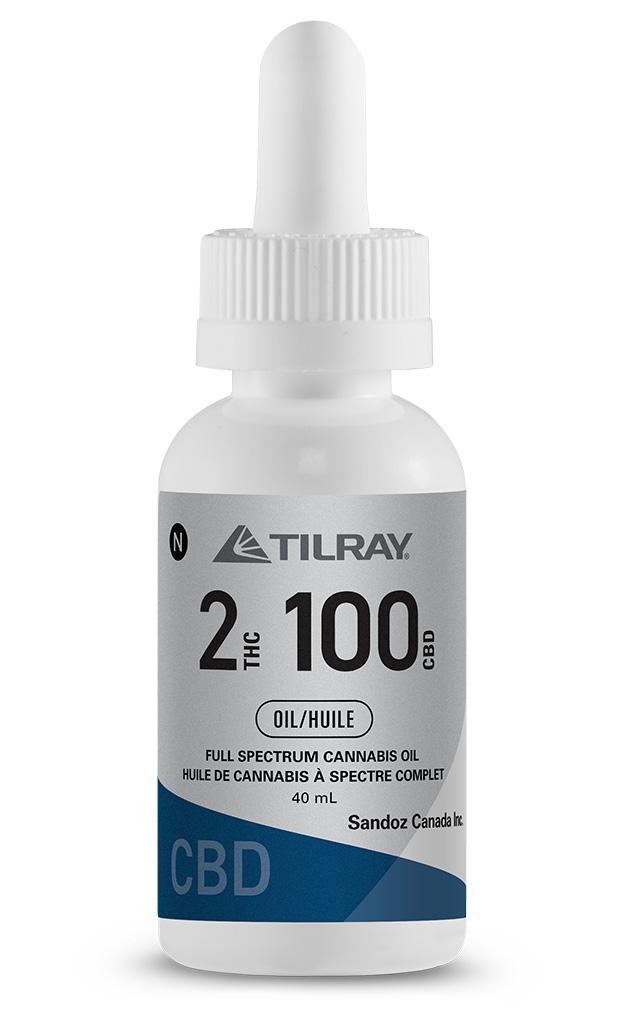 2:100 CBD Tilray