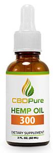 CBDPure Hemp Oil 300 CBD Pure