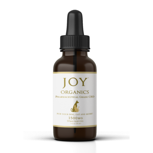 CBD Oil Tincture for Pets Joy Organics