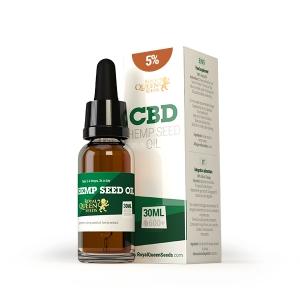 CBD Hemp Seed Oil 5% Royal Queen Seeds