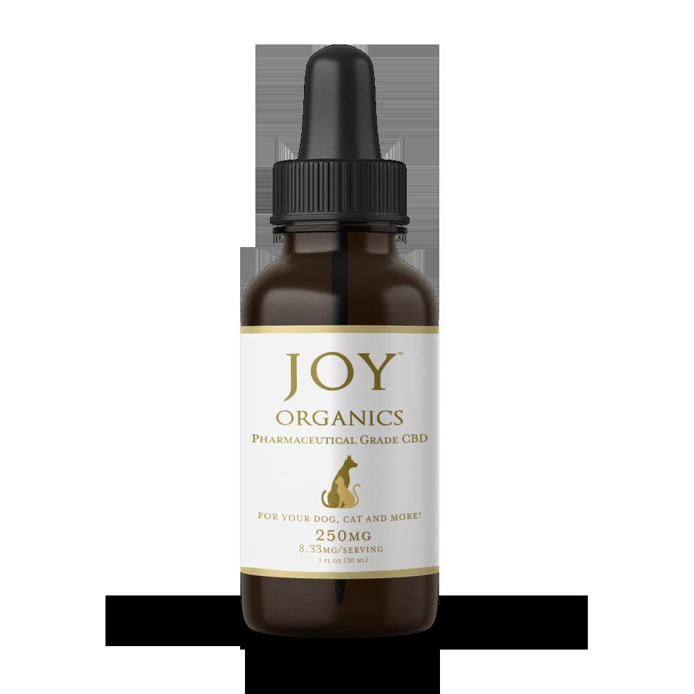 CBD Oil Tincture for Pets Joy Organics