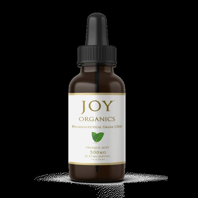 CBD Oil Tinctures Joy Organics