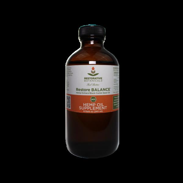 Restore BALANCE™ Hemp Oil Extract Restorative Botanicals