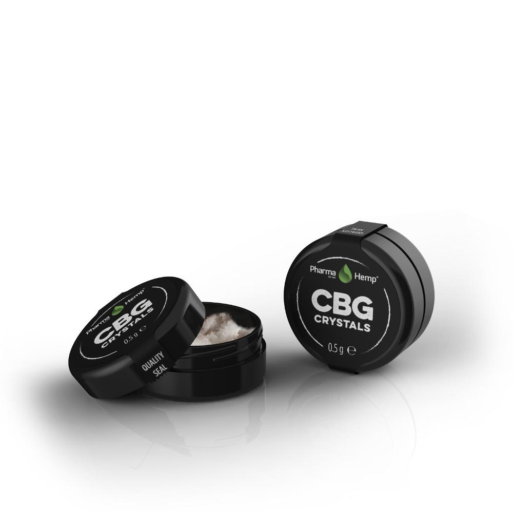 CBG CRYSTALS 97% | 0.5g PharmaHemp