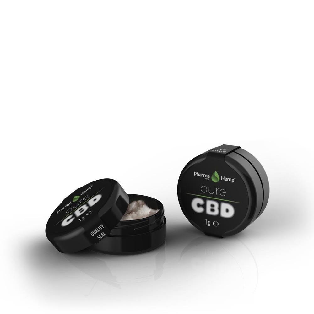 CBD CRYSTALS99.6% | 0.5g PharmaHemp