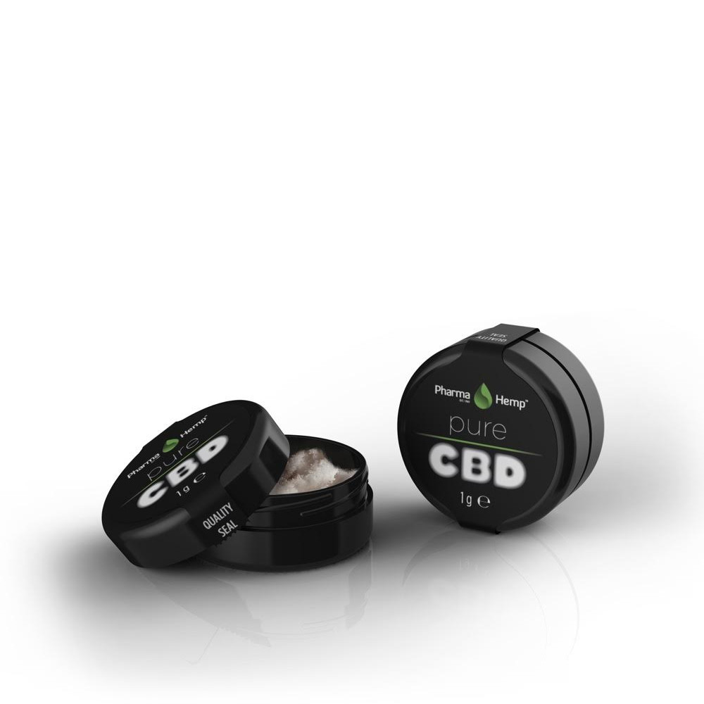 CBD CRYSTALS99.6% | 1g PharmaHemp