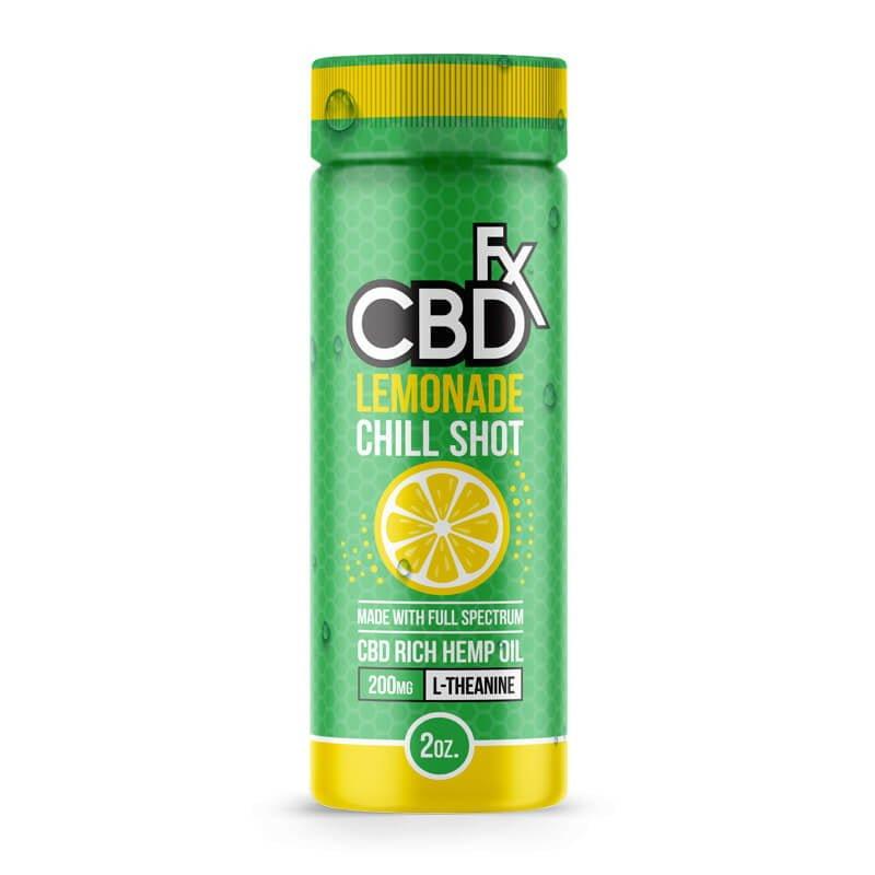 CBD Drink – Lemonade CBD Chill Shot CBD FX