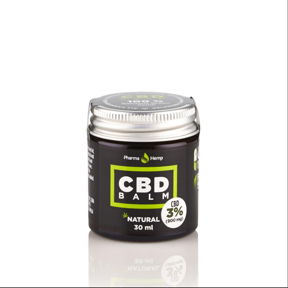 CBD BALM 3% | 30ml PharmaHemp