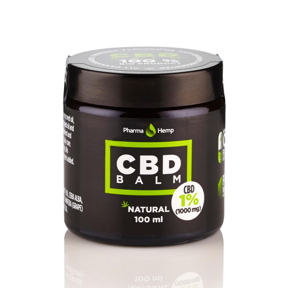 CBD BALM 1% | 100ml PharmaHemp