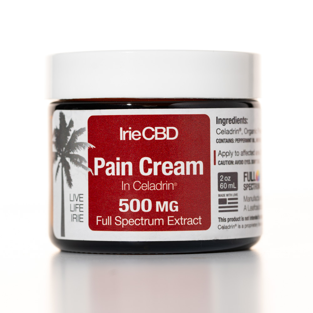 CBD Oil Pain Cream with Celadrin® Irie CBD