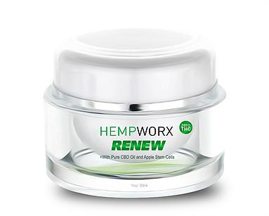 HempWorx Renew - Anti Aging CBD Cream HempWorx