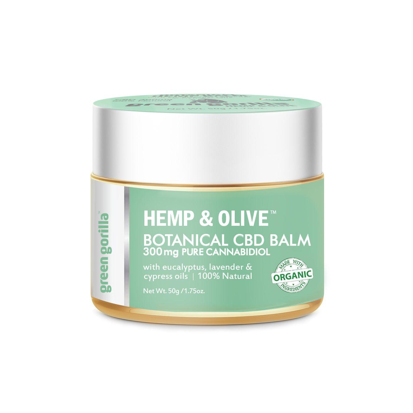 Botanical CBD Balm 300 mg Green Gorilla