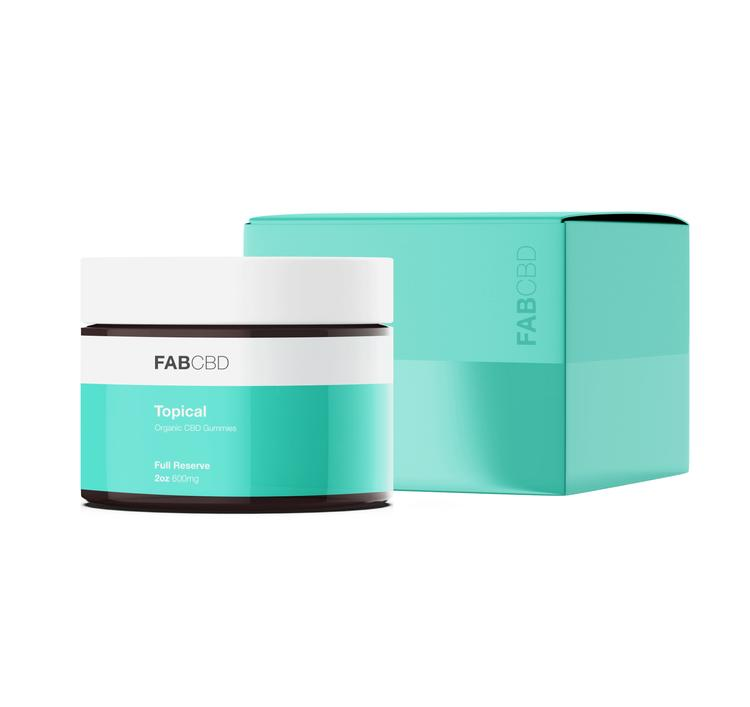 CBD Muscle & Joint Topical Fab. CBD