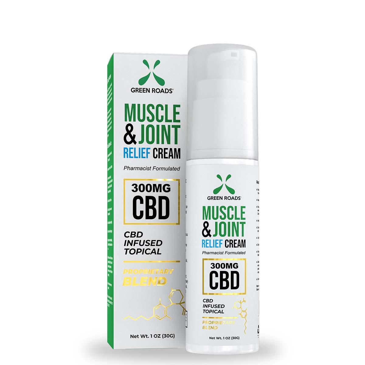 Soothing CBD Topical Cream – 300 mg Green Roads CBD