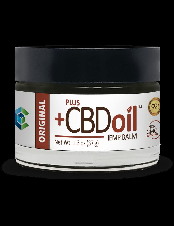 CBD OIL BALM Plus CBD Oil