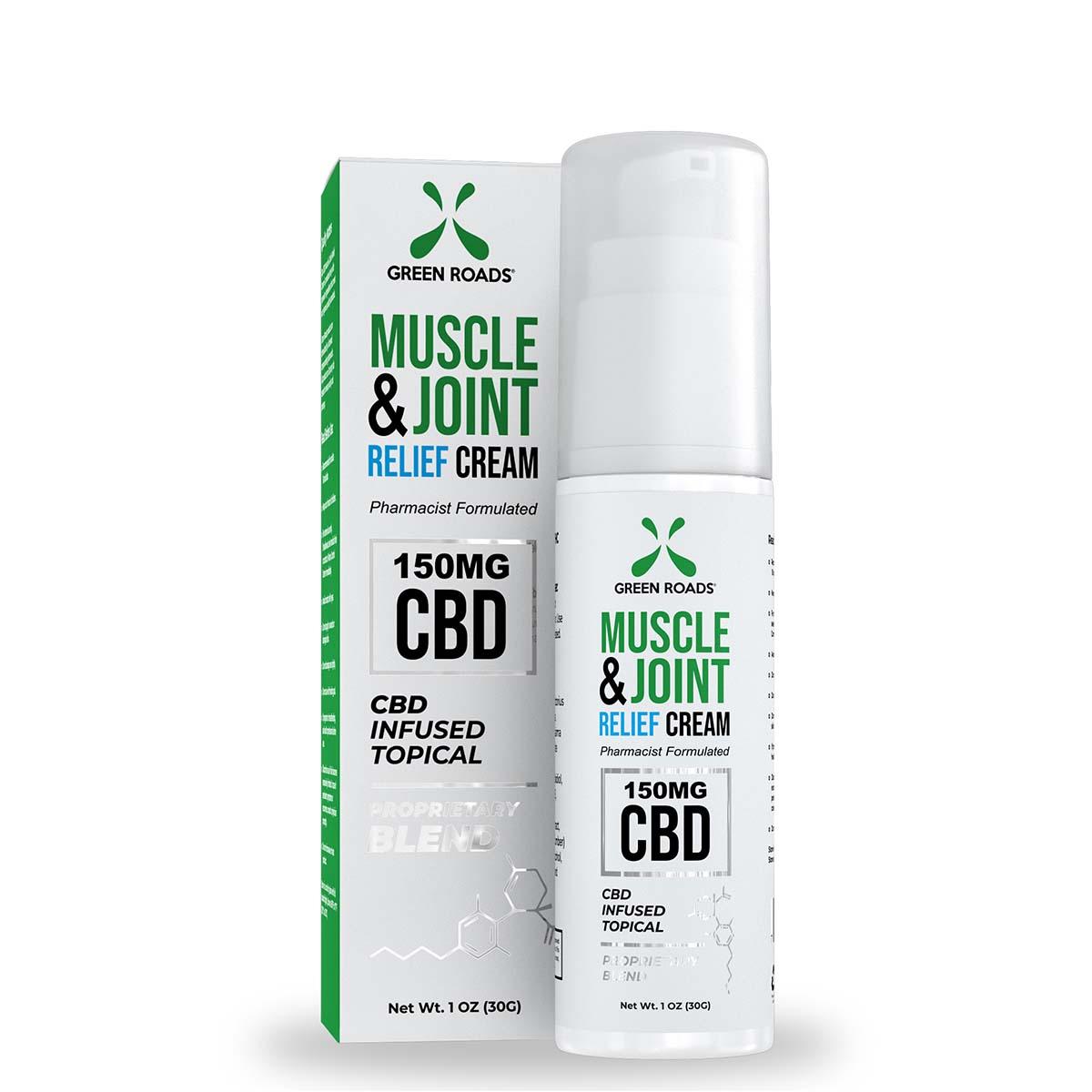 Soothing CBD Topical Cream – 150mg Green Roads CBD