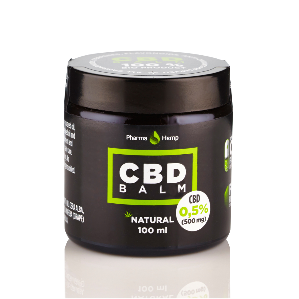 CBD BALM 0.5% | 100ml PharmaHemp