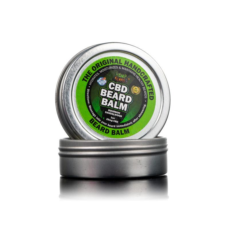 CBD Beard Balm Hemp Bombs