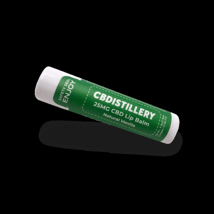 25mg CBD Lip Balm CBDistillery
