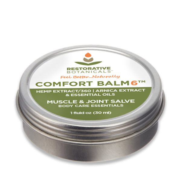 COMFORT BALM6™ Advanced Blend Warming Muscle & Joint Salve Restorative Botanicals