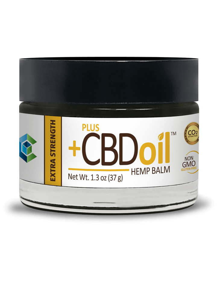 CBD OIL BALM EXTRA STRENGTH Plus CBD Oil