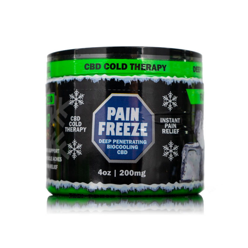 4oz CBD Pain Rub Hemp Bombs