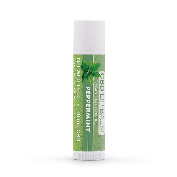 10mg CBD Lip Balm Pure Hemp Botanicals