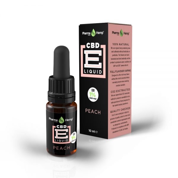 CBD E-LIQUID 1% | 10ml PharmaHemp
