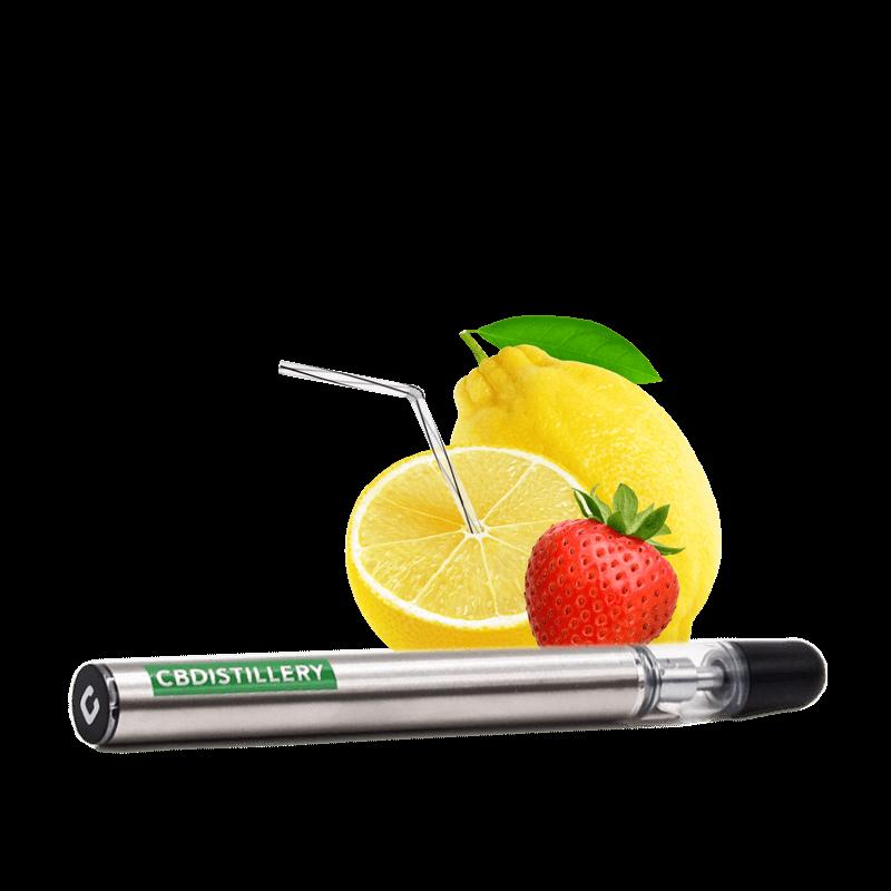 CBD Vape Pen – 200mg Strawberry Lemonade CBDistillery