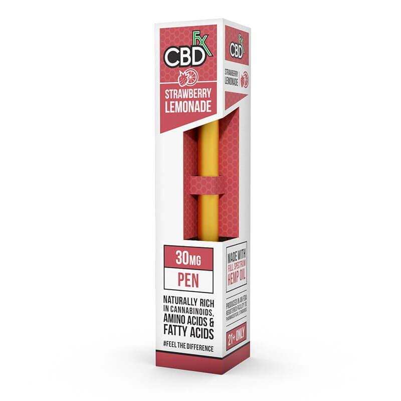 CBD Vape Pen – Strawberry Lemonade CBD FX