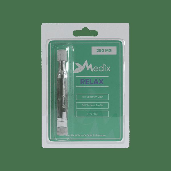 CBD Vape Oil Cartridge – Relax Medix CBD