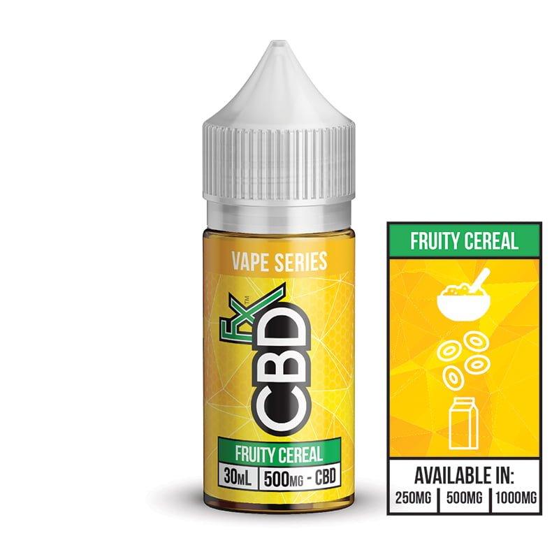 Fruity Cereal – CBD Vape Juice CBD FX