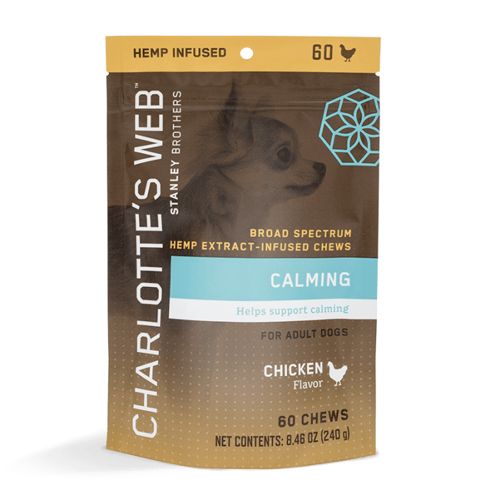 Calming Chews For Dogs Charlotte's Web