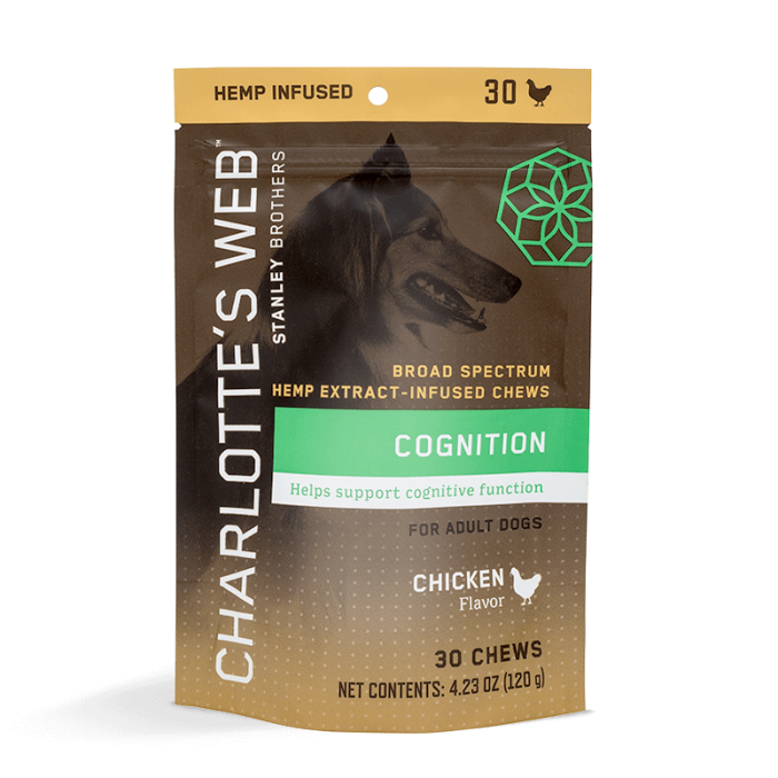 Cognition Chews For Dogs Charlotte's Web