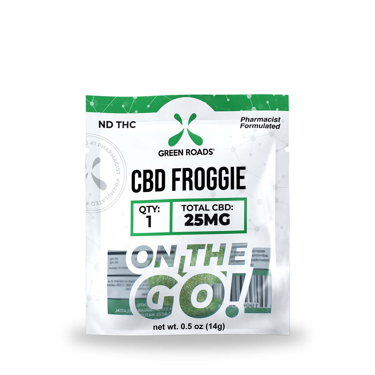 CBD Froggie – 25 MG Green Roads CBD