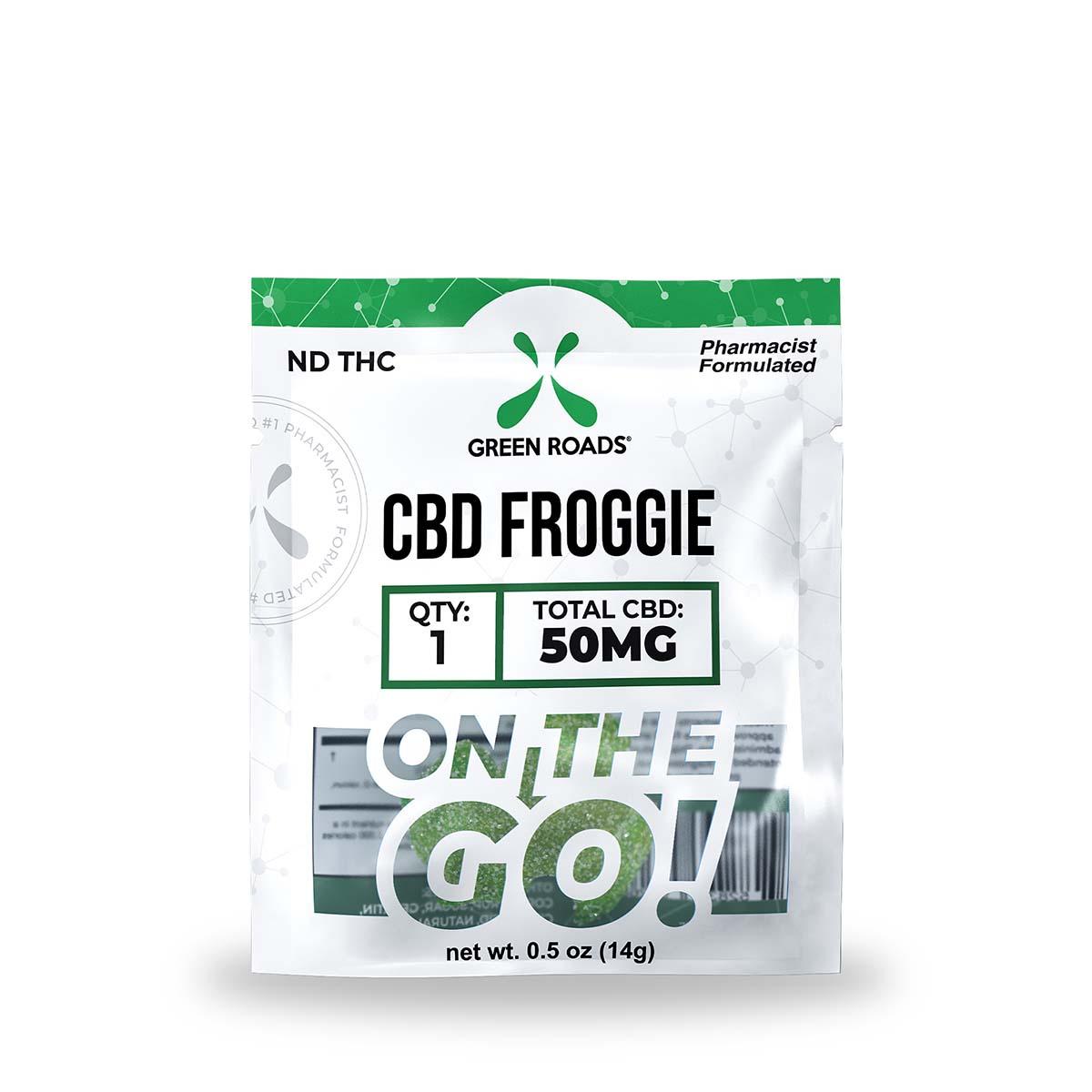 CBD Froggie – 50 MG Green Roads CBD