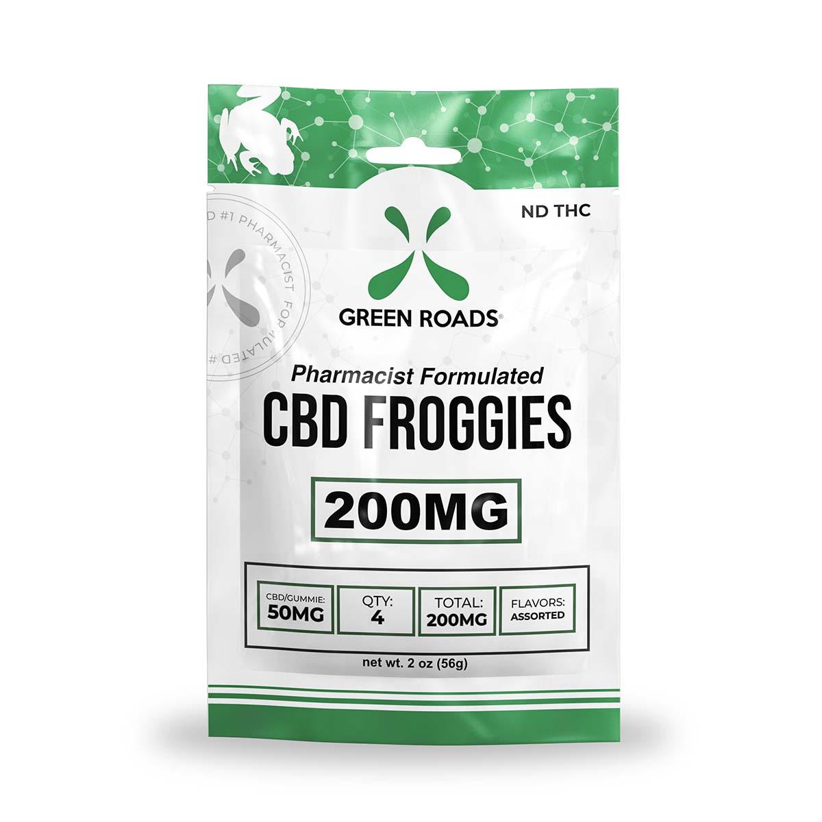 CBD Froggies – 200 MG Green Roads CBD