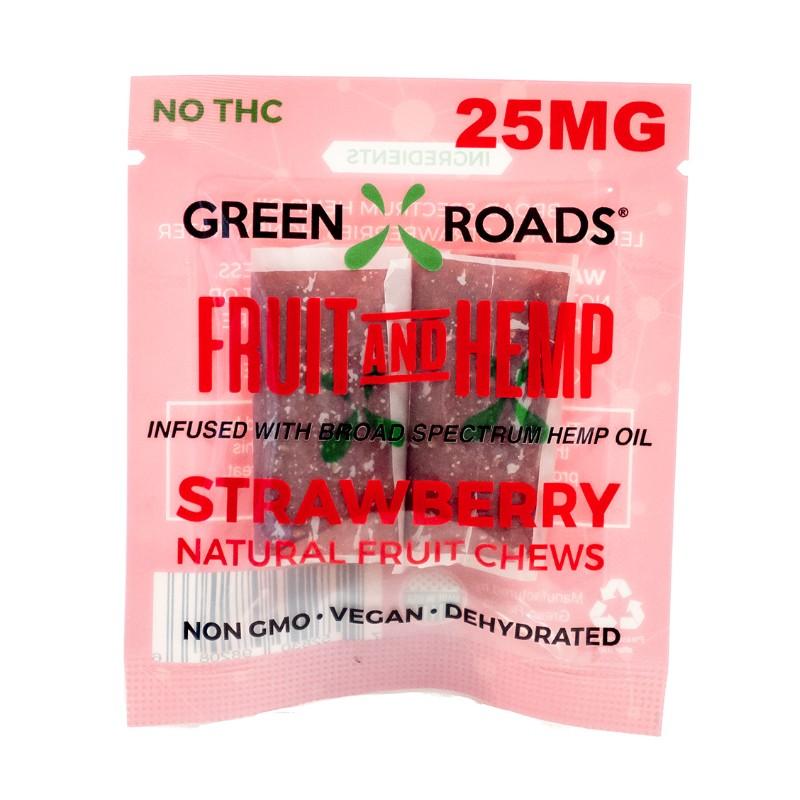 CBD Strawberry Fruit & Hemp – 25 MG Green Roads CBD
