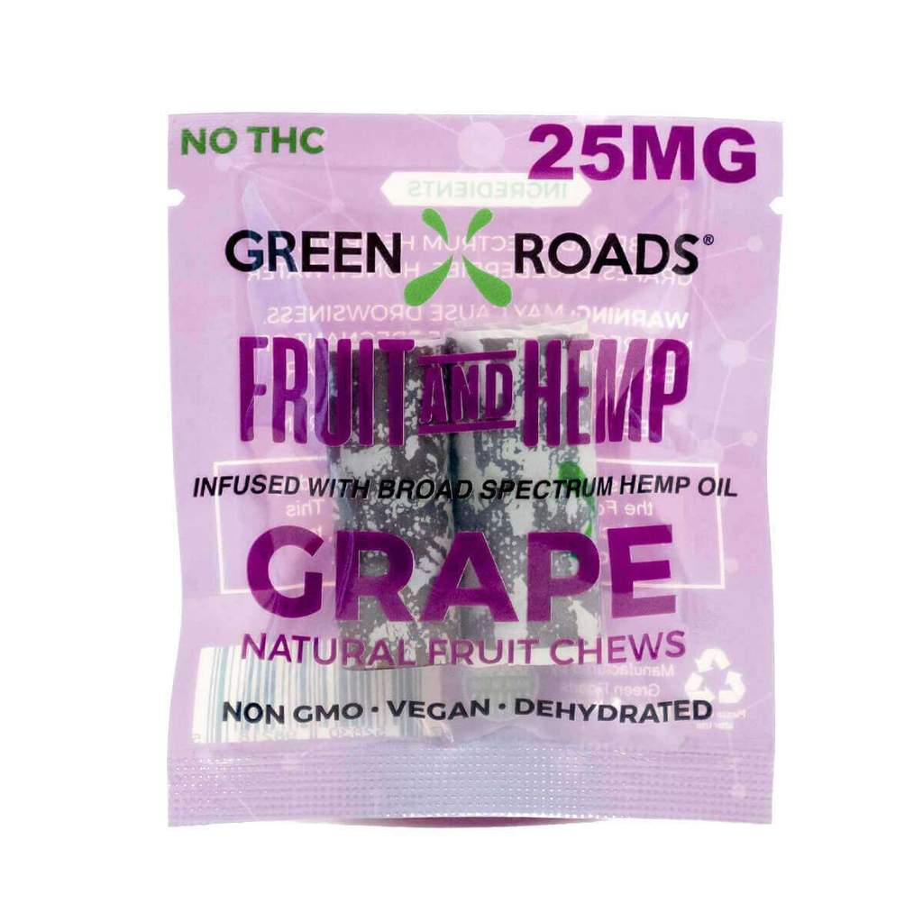 CBD Grape Fruit & Hemp – 25 MG Green Roads CBD