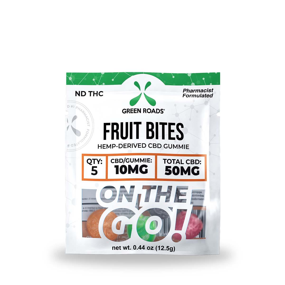 CBD Fruit Bites – 50 mg Green Roads CBD