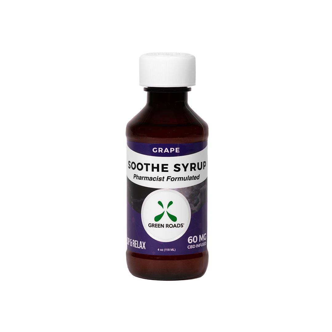 CBD Grape Soothe Syrup – 60 MG Green Roads CBD