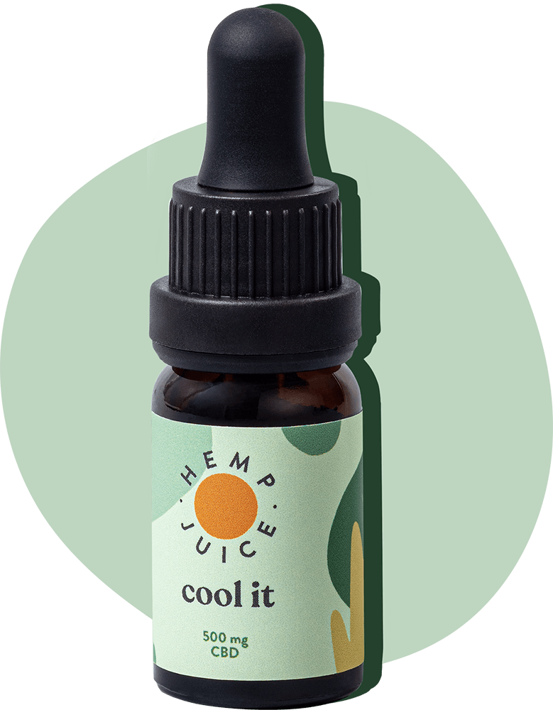 Olej CBD COOL IT | 500mg Hemp Juice
