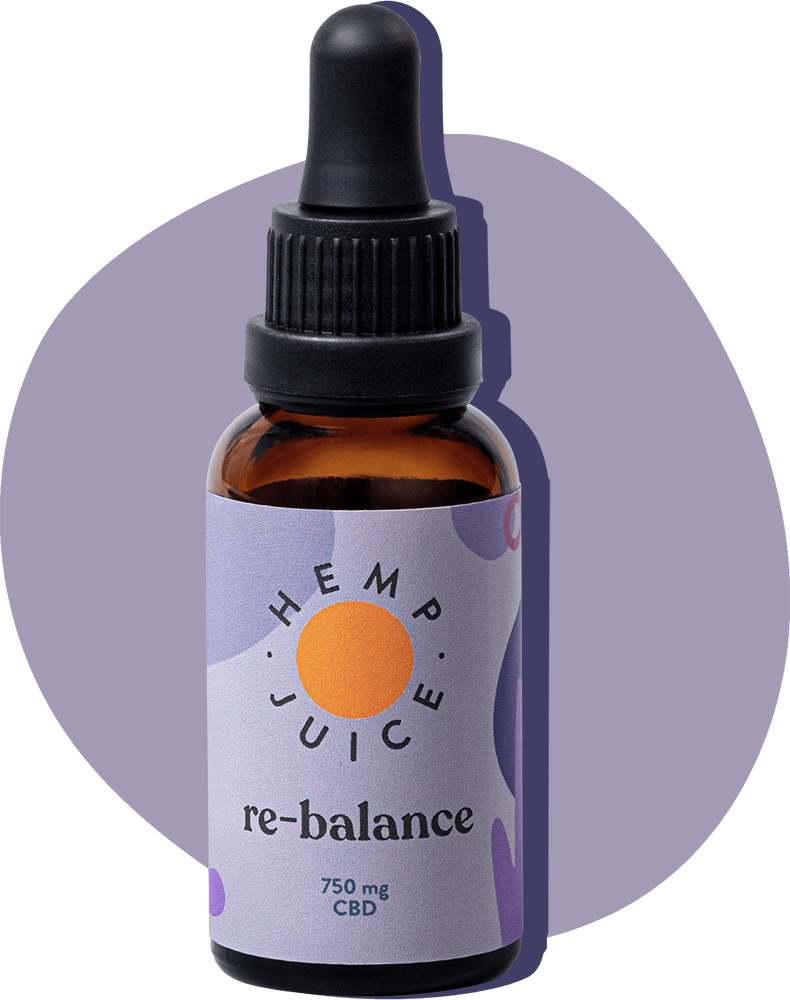 Olej CBD RE-BALANCE | 750mg Hemp Juice