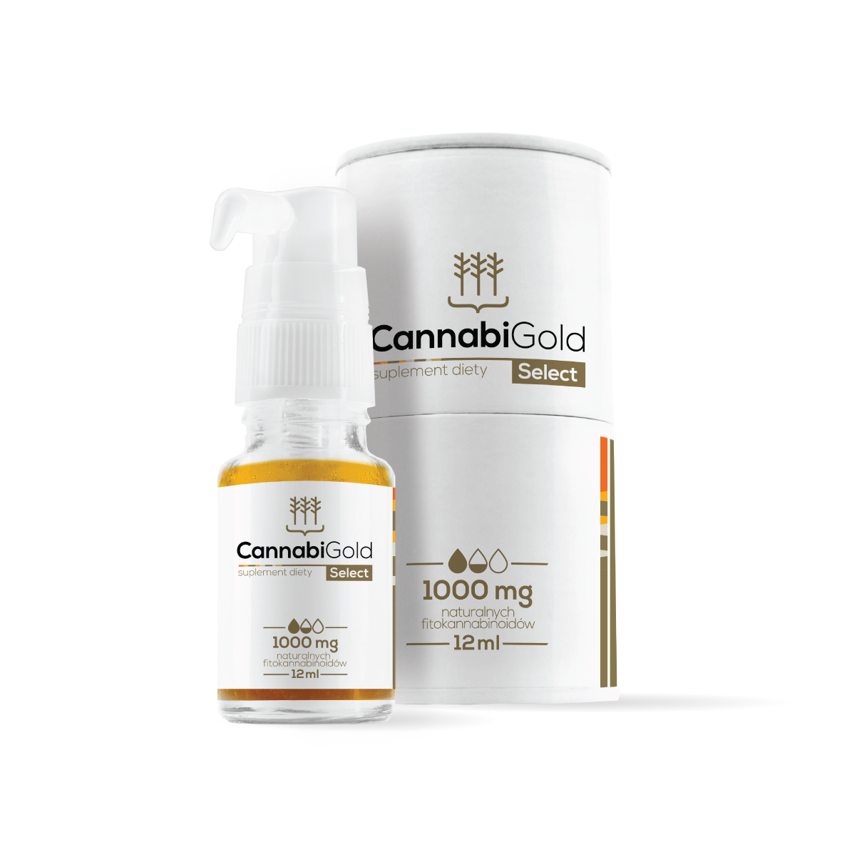 CBD Oil CannabiGold Select | 1000 mg CannabiGold