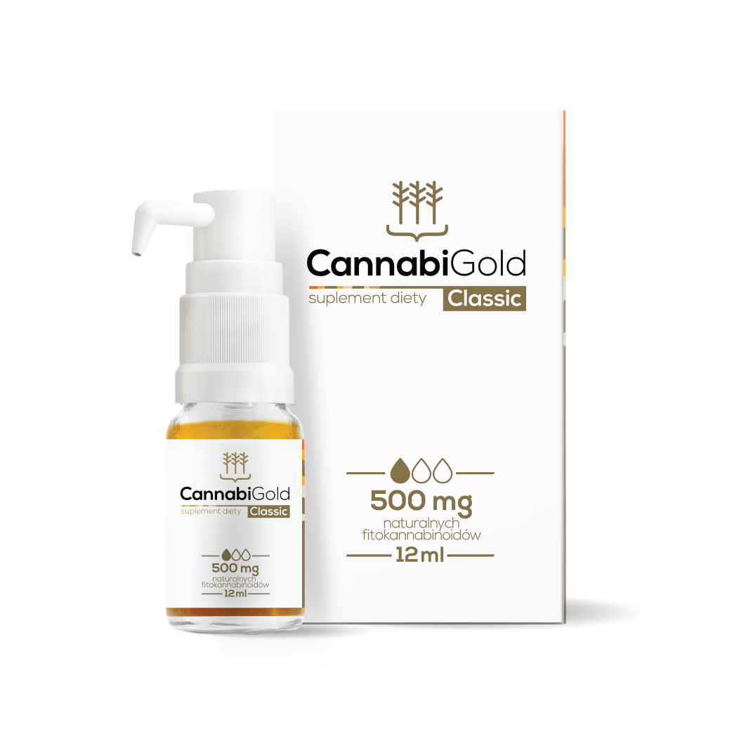 CBD Oil CannabiGold Classic | 500 mg CannabiGold
