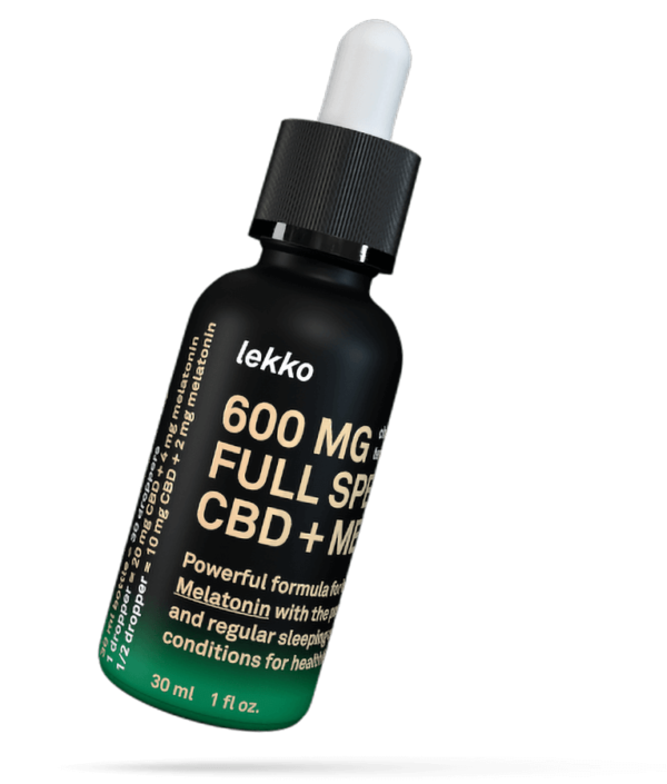 Lekko 600 Full Spectrum CBD + melatonin Lekko