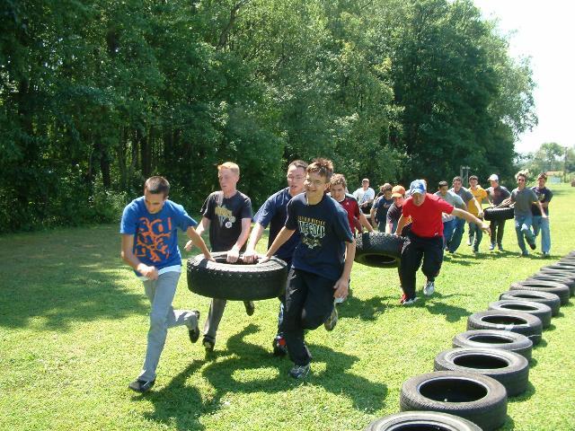 Racing at Summer Camp 2008